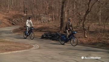 Beginning of spring fun at Central Park