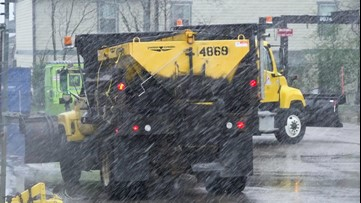 Slippery streets make a mess in Raleigh