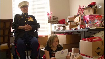 104-year-old military veteran gets over 70,000 Valentine's Day letters