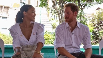 Prince Charles Praises Rihanna in Speech (After Getting a Lesson on RiRi from Prince Harry)