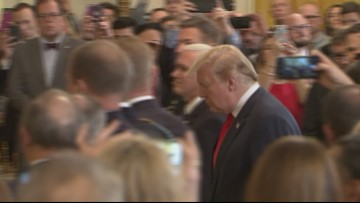Trump's Reaction: 'I Am Having A Good Day Too'