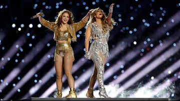 Jennifer Lopez and Shakira brought the heat in flawless Super Bowl halftime show