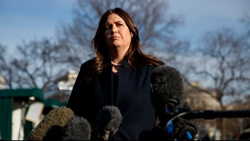 Trump's popularity could be tested if Sarah Sanders seeks office