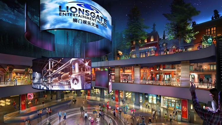Theme park to star 'Hunger Games,' 'Twilight'