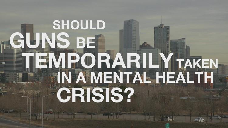 Should guns be temporarily taken during a mental health crisis?