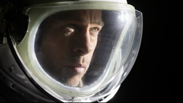 Brad Pitt asks astronaut: Was I more believable than George Clooney?