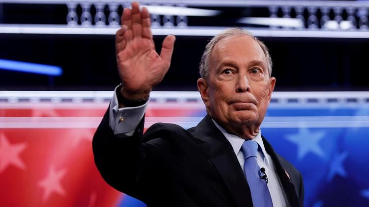 Michael Bloomberg first Election 2020 Debate AP
