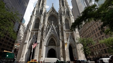 Police: Man with gas cans arrested at New York City church