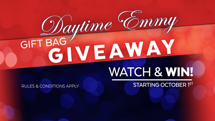 Enter the Daily Blast LIVE Emmy Awards gift bag giveaway worth $5,000