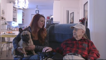 Woman 'adopts' WWII veteran who lost his home in Camp Fire