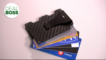 The best carbon fiber wallet deal to protect your ID is on sale