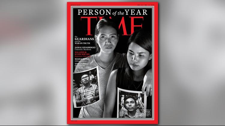 Wa Lone and Kyaw Soe Oo TIME Magazine