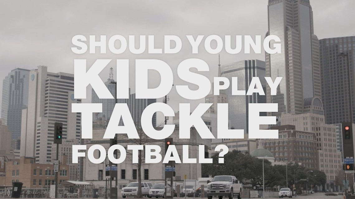 Should little kids play tackle football?
