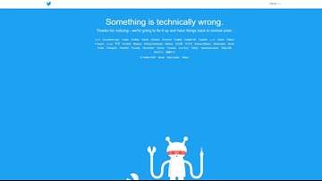 Twitter jokingly welcomes everyone back after site goes down