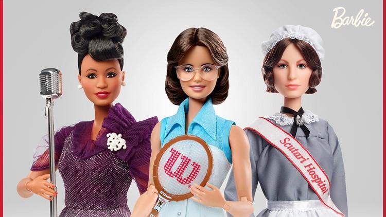 Barbie Ella Fitzgeral Billie Jean King Florence Nightingale