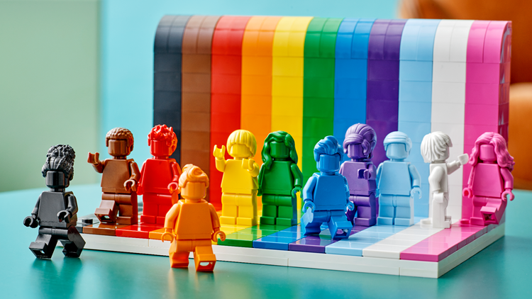 LEGO reveals first LGBTQ-themed set ahead of Pride Month