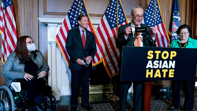 Senate passes bill to fight hate crimes against Asian Americans