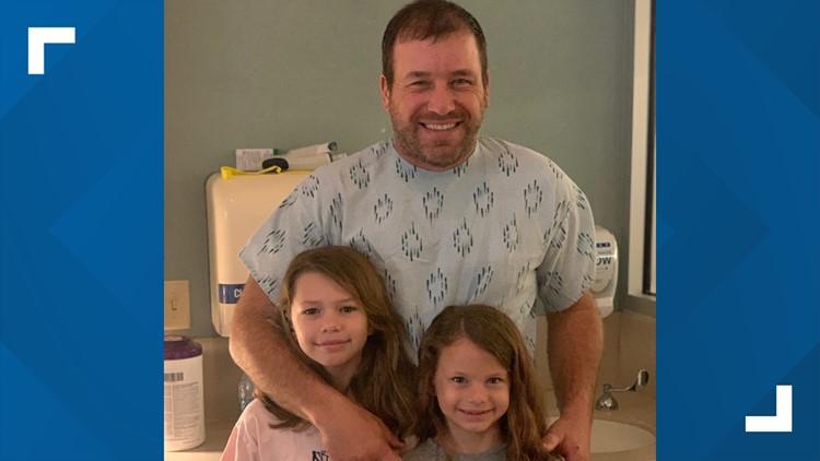 Ryan Newman first hospital photo