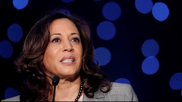 Kamala Harris joins Elizabeth Warren in call for Trump impeachment