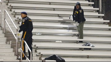 Alleged gunman, victim among 6 charged in shooting at New Jersey football game