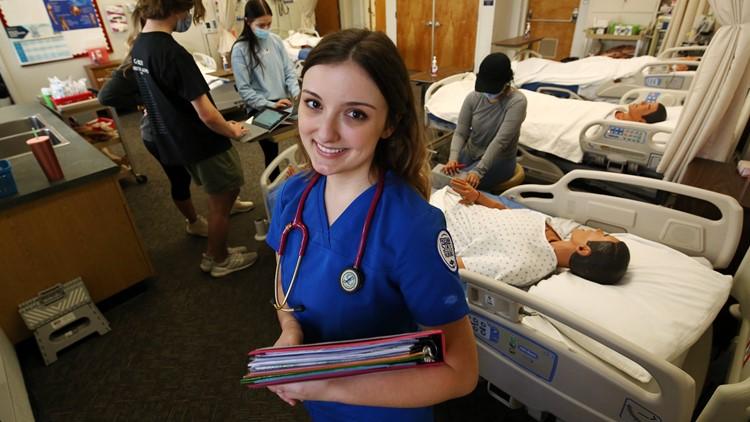 Nursing schools see applications rise, despite COVID burnout