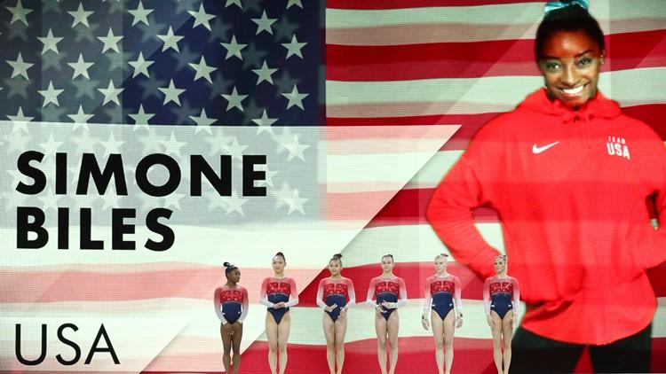 Simone Biles Germany Gymnastics World Championships