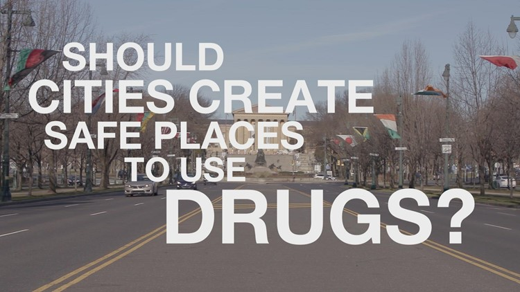 Should cities create safe places to use drugs?