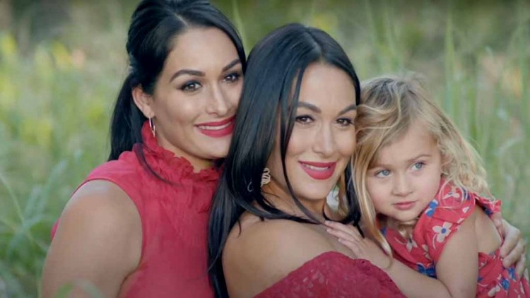 Nikki and Brie Bella: Ex-WWE stars give birth to baby boys a day apart
