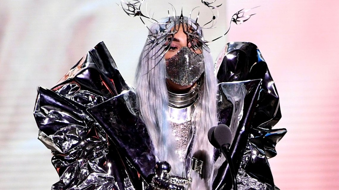 Lady Gaga Wins First Tricon Award At 2020 Mtv Vmas Wgrz Com