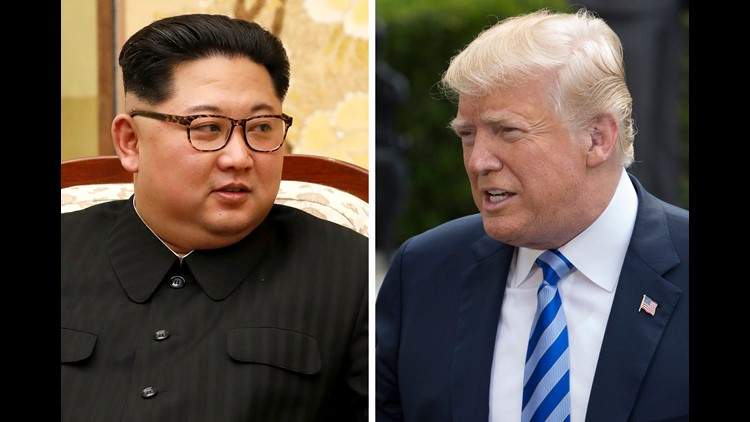 Kim Jong Un President Trump
