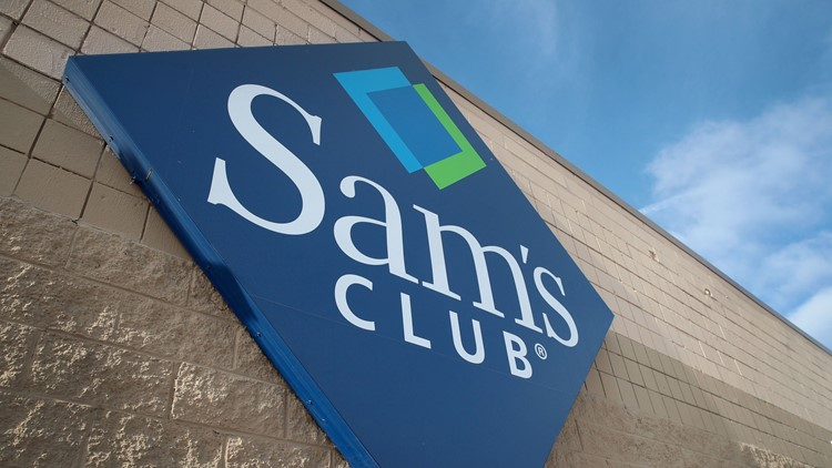 Sam's Club Store Front