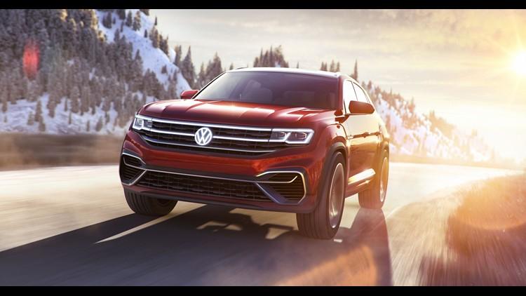 Volkswagen Debuts Atlas Cross Sport Suv Concept At New York Auto