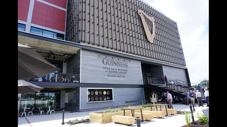 The $90 million Guinness Open Gate Brewery & Barrel House opened Aug. 3 near Baltimore.