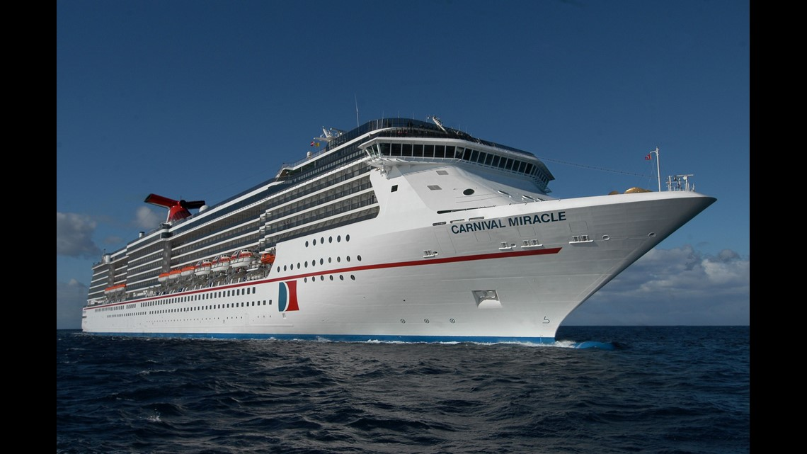 Carnival Cruise Line To Return To San Diego As Carnival Miracle Redeploys Wgrz Com