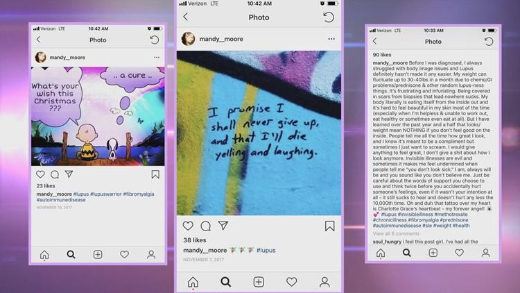 Amanda Moore Lupus Social Media