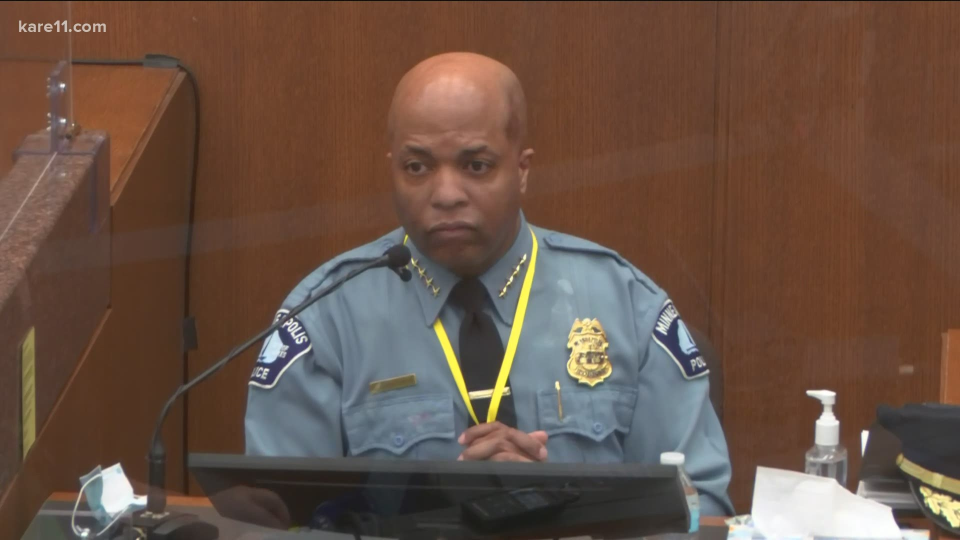Chief Medaria Arradondo testifies in Derek Chauvin trial | wgrz.com