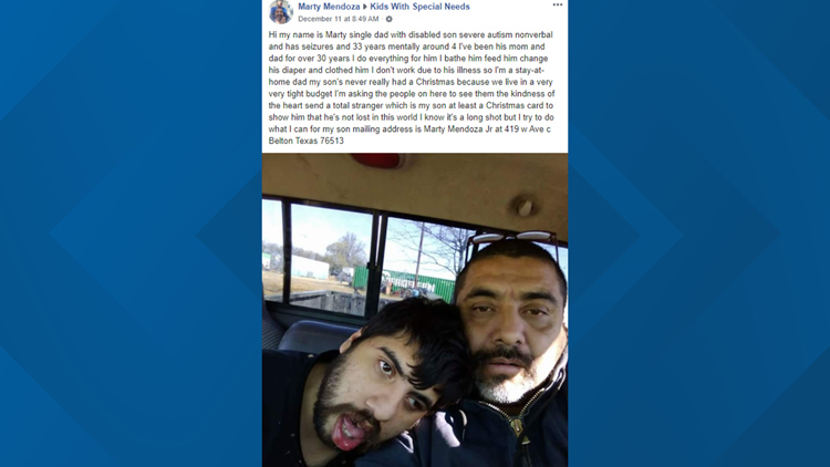 Marty Mendoza's post to Kids with Special Needs