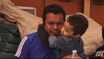 A Honduran father told his son they were going on vacation. They were really being smuggled through Mexico.