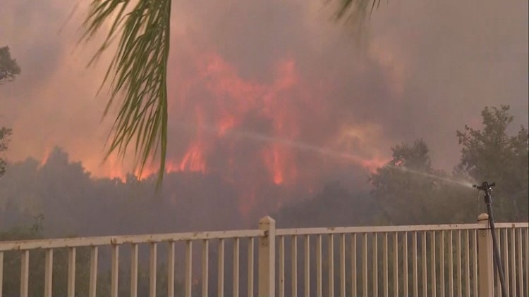 Tenaja Fire near Murrieta, Riverside grows to 2,000 acres