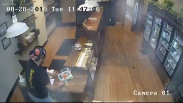 Is an Oregon marijuana shop haunted? Watch surveillance video