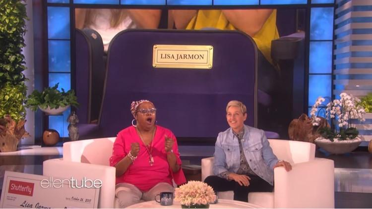 Lisa Jarmon on Ellen and seat_1540595235003.JPG.jpg