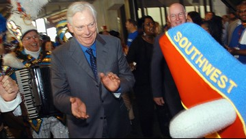 Southwest Airlines founder Herb Kelleher remembered as 'maverick, pioneer'