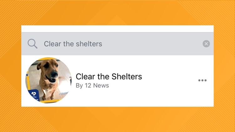 Clear the Shelters Facebook explainer