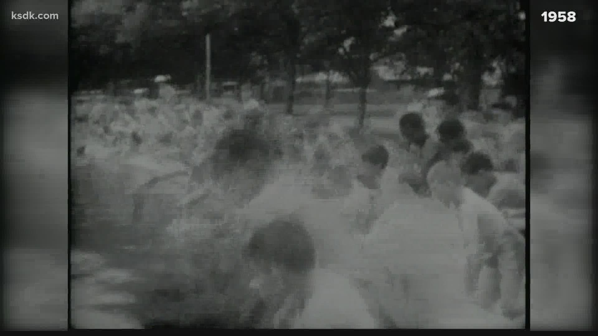 Hot controversy over St. Louis' public pools in 1958 | wgrz.com