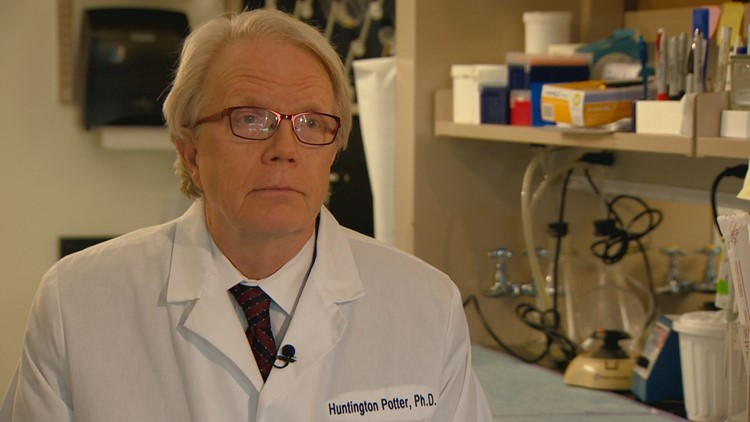 Dr. Huntington Potter is the director of Alzheimer's research at the CU Anschutz campus.