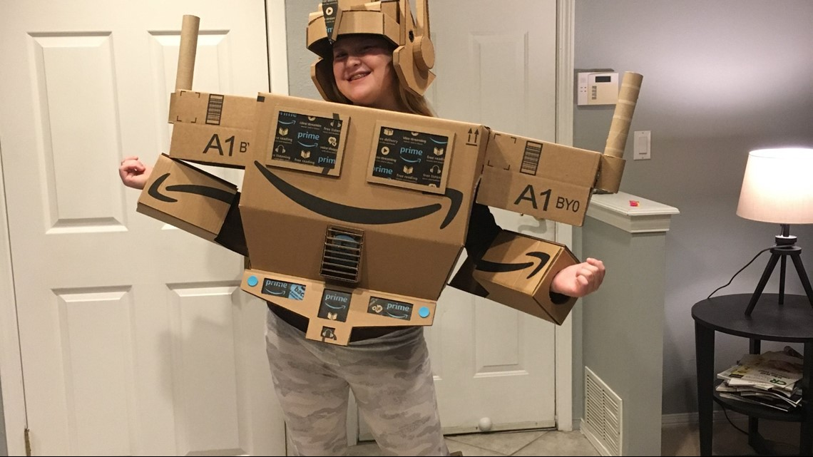 amazon makes prime costume come to life for girl with autism wgrzcom