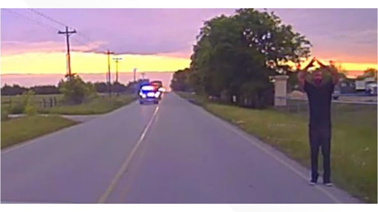 VIDEO: Former deputy accused of killing 3 arrested near Manor