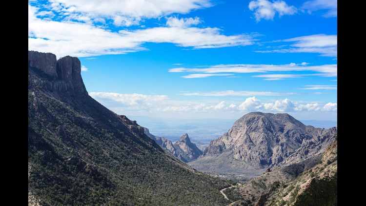 Views from the Lost Mine Trail in Big Bend National Park. (Photo by Darren Murph/The Points Guy)