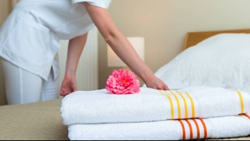 How to tell if you're staying in a dirty hotel room