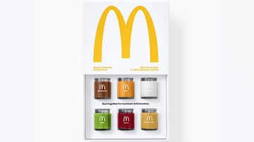 McDonald's launches set of candles that smell like a Quarter Pounder